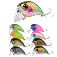 Lure New Floating Water Lure Little Fat Rock 4.4 6.0G Noise Hard Bait Topmouth Culter Sea Fishing Fishing Gear