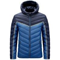Down popular vest hooded cotton jacket men's winter coat