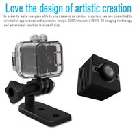 Original Mini Kamera SQ12 Full HD 1080P Wasserdichte Shell CMOS Sensor Infrarot Nachtsicht Recorder Camcorder Unterstützung TF-Karte