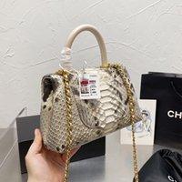 Top Fashion Classic Single Flap Mini Bags Co Luxury Designer Handle Totes Multi Pochette Colorful Two-tone Genuine Leather Purse Clutch Luxury_handbags 22C