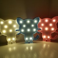 Led rabbit model lamp Festival room decoration Night light Lamps Home Club Outdoor Indoor Wall Decorations stand hang