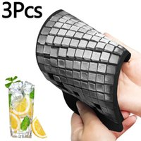 3Pcs Ice Cube Tray 160 Grids 1X1cm Silicone Fruit Maker DIY Creative Small Mold Kitchen Accessories Baking Moulds