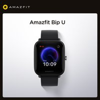 Original Amazfit Bip U smart watch 5ATM waterproof color display motion tracking for Android iOS phones