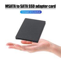 Mini PCIE MSATA SSD a 2,5 pollici SATA3 Adapter Scheda con custodia da 7 mm di spessore Stato solido per PC Computer Desktop Cables Connettori