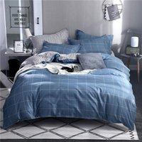 Bedding Sets 37Geometric 4pcs Children Adult Bed Cover Set Cartoon Duvet Sheets And Pillowcases Comforter 2TJ-61001