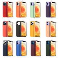 With LOGO For iPhone 11 12 Pro Max Xs Xr 8 7 Plus Luxury Designer Phone Cases Officrial Original Anti-fall Silicone Defender Case