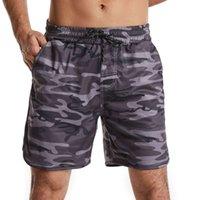 Summer New Camouflage Shorts da uomo Casual Running Capris Fitness Sport Pansket Beach Pants da uomo