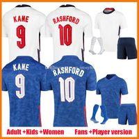 2021 Kane Sterling Soccer Jerseys Fans Player النسخة النساء 2021-22 راشفورد سانشو هندرسون باركلي ماجوير 20 21 22 قمصان كرة القدم أطقم أطفال موحدة