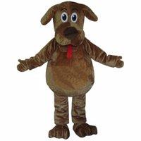 2019 Professional factory hot Cartoon Mascot Costume Wags The Dog Mascot Costumes Fluffy Fur Wags Mascot Costumes