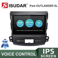 Player ISUDAR V57S Android Auto Radio For MITSUBISHI OUTLANDER 2007-2012 Multimedia GPS Stereo System Voice Control USB No 2 Din Car Dvd