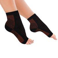 ./Mpression Socks Sports Foot Sleeve Apoio ao tornozelo Ciclo Ciclo Basquete Ao Ar Livre Homens Brace Sock