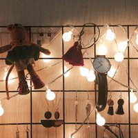 LED Globe String Lights Lamps for Indoor Outdoor Wedding Birthday Party Garden Bedroom Wall Decorations Strip usalight