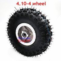 Motorcycle Wheels & Tires Good Quality 4.10-4 Tire Wheel And Inner Tube 4 Inch Hub Rim For 49cc Mini Quad Dirt Bike Scooter ATV Buggy 4.10 3