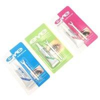 False Eyelash Glue With Y Fork Waterproof Eye Lash Cosmetic Tools Colle Faux Cil Eyelashes Makeup Adhesive Clear-white Dark-black 1244