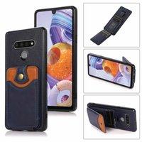Folio Case for LG Stylo 6 ريترو بو الجلود حامل بطاقة جيب محفظة حالة الهاتف غطاء ل lg ستايلو 7 فوندا كوكه