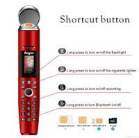 Orignal Music Pen Cellphone AK009 Bluetooth Dialer Reporter Recording Mobile Phone 2000mah Mini Handheld Cigar Lighter Celulares for Man Student