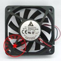 EFB0612HA EFB0612HHA EFB0612LA EFB0612MA 6010 12V Kühllüfter 60 * 60 * 10mm Fans Kühlungen