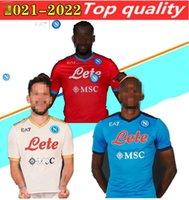 20 21 Napoli Soccer Jersey Nápoles Chemise de futebol 2021 Koulibaly Camiseta de Fútbol Insigne Maradona Maillot de Pied Mertens Camisa