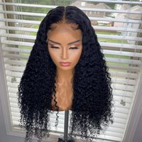 Lace Wigs 360 Frontal Wig 28 30 Inch Deep Wave 13x4  13x6 Front Human Hair Curly Glueless Brazilian Virgin