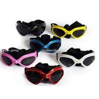 ZC الكلب نظارات جرو uv حماية نظارات شمسية للماء القط نظارات الشمس أنيقة وممتعة الحيوانات الأليفة اللوازم T