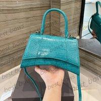 Luxurys designers de alta qualidade senhoras 2021 ampulheta bolsa de ombro bolsa mulheres moda mãe bolsas portáteis sacos cossbody totes marca betal cor puro