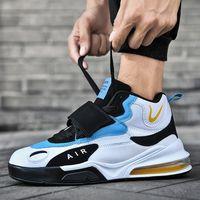 2021 Primavera nova lazer dos homens esportes juventude tendência de basquete júnior estudantes do ensino médio almofada de ar correndo sapatos lzft