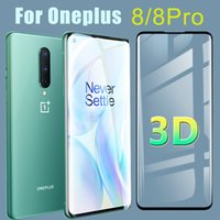 3D Protective Glass for Oneplus 8 Pro Screen Protector Oneplus8pro Tempered Glasses