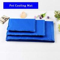 Kennlar pennor 800g-1700g sommar husdjur ismatta för gyllene hår kylning hund gel blå kennel sängar grossist
