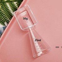 Multifuncionales 2 lados de plástico tazas de medición de doble propósito de medición de medición de la cuchara en polvo sólido Medición de líquido Herramienta de hornear FWE8970