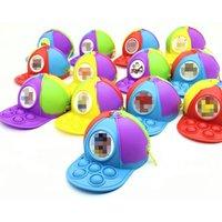 Squishy Sensory Bubble Baseball Cap Change Coin Purse Cellphone Straps Fidget Pop Simple Dimple Hat Keychain Bags Backpack Pendant Decompression Finger Push Toys