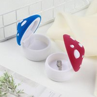 Jewelry Pouches, Bags Elegant Wedding Display Holder Functional Package Box Container Mushroom