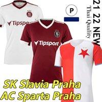 2021 2022 Alta Qualidade AC Sparta Praha Futebol Jersey 21/22 República Checa SK Slavia Praha S.Tecl O.Kudela Jan Kuchta A.Sima L.Provod Docca Hlozek Football Jerseys