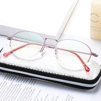 Anti Blue Light Presbyopia Mode Elegante Mittelalter Lesebrille Metall Qualität Vertrieb Oculos Gafas Lentes de Lectura Sonnenbrillen