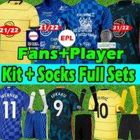 21 22 Chelsea CFC soccer jersey 4th HAVERTZ KANTE WERNER PULISIC ZIYECH jerseys ABRAHAM MOUNT 2020 2021 men Kits+kids Kits women football shirts