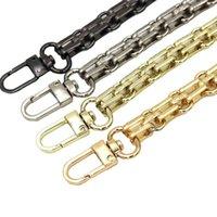 Bag Parts & Accessories 100cm,110cm,120 Cm Metal Purse Chain Strap Handle Replacement Handbag Shoulder Gold Silver Black