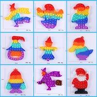 Halloween e Natale popolare dito bolle giocattolo sensoriale dita del silicone divertente scherzi per scherzare