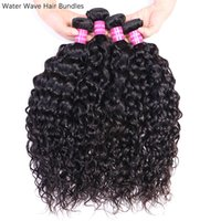 4Pcs Hair Bundles Wholesale Natural Color Unprocessed Brazilian Peruvian Malaysian Raw Virgin Indian Human Hair Remy Hair