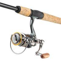 10 + 1 Kugellager Spinning Rolle Metall Spule Angelrollen 5.2: 1 Räder Spulenkarpfen Fisch Tackle Zubehör