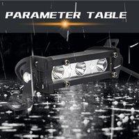 Accessories Kit 9W Work Light ATV Bar Car Fog Spot Lamp Motorcycle 3 LED Emergency Lights