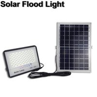 Outdoor Lighting Solar Lamps Flood Lights 200W 300W IP67 Wall lamp with Remote Control Security Lighting for Yard Garden Gutter Garage In Stock