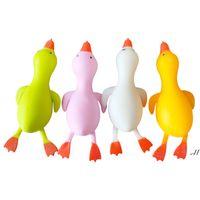 Fidget Brinquedos Flour Flour Duck Brinquedo Festa Favor Combinação Patos Puxar Decompressão Pinço Selling Selling DWD7677