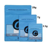empty's mylar bag Cookies Dry Herb Packaging edible pouch packing bags OZ 3.5g 7g 28g ziplock children proof pack