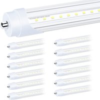 8ft FA8 single pin T8 LED tube light lamp bulbs SMD2835 fluorescent 2.4M 192 leds guide plate 40W AC85-265V