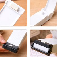 Mini Portable Heat Sealing Machine Travel Hand Pressure Household Impulse Sealer Seal Packing Plastic Bag Food Saver Storage Tools LLE6717