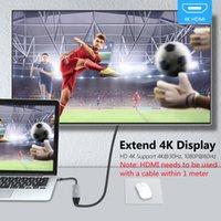 USB C HUB USB 3.0 Type C Adapter Hub to HDMI-compatible thunderbolt 3 PD USB C Dock for iPad Macbook Nintendo Switch