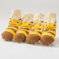 Dog Apparel Hipidog Socks Pet Protectors Non-Slip For Large And Medium Dogs