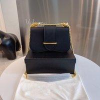 Designer Crossbody Bag Handbag Wallet Shoulder Bags Genuine leather High-quality Gold chain Fashion brand Different colors with original box size 24*8*16 cm