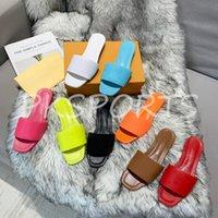 PKSPort terlik canlanma düz katır ayakkabı 2021ss erkek kadın slaytlar sandalet tasarımcı siyah pembe turuncu mavi waterfront kahverengi beyaz yaz çevirme
