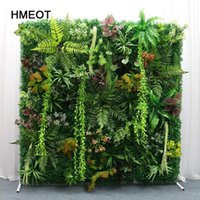 Decorative Flowers & Wreaths Custom DIY Artificial Lawn Christmas Wedding Decor Plants Wall   El Store Background Grass Home