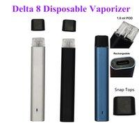 D8 Одноразовые Vape Peen Pods Vaporizer для толстого масла один грамм индивидуальный E-CIG 240mAh Vapes аккумуляторная батарея. Одноразовые аккумуляторы E-Cigarettes Перезаряжаемые наборы стартера 1.0 мл Пустой OEM